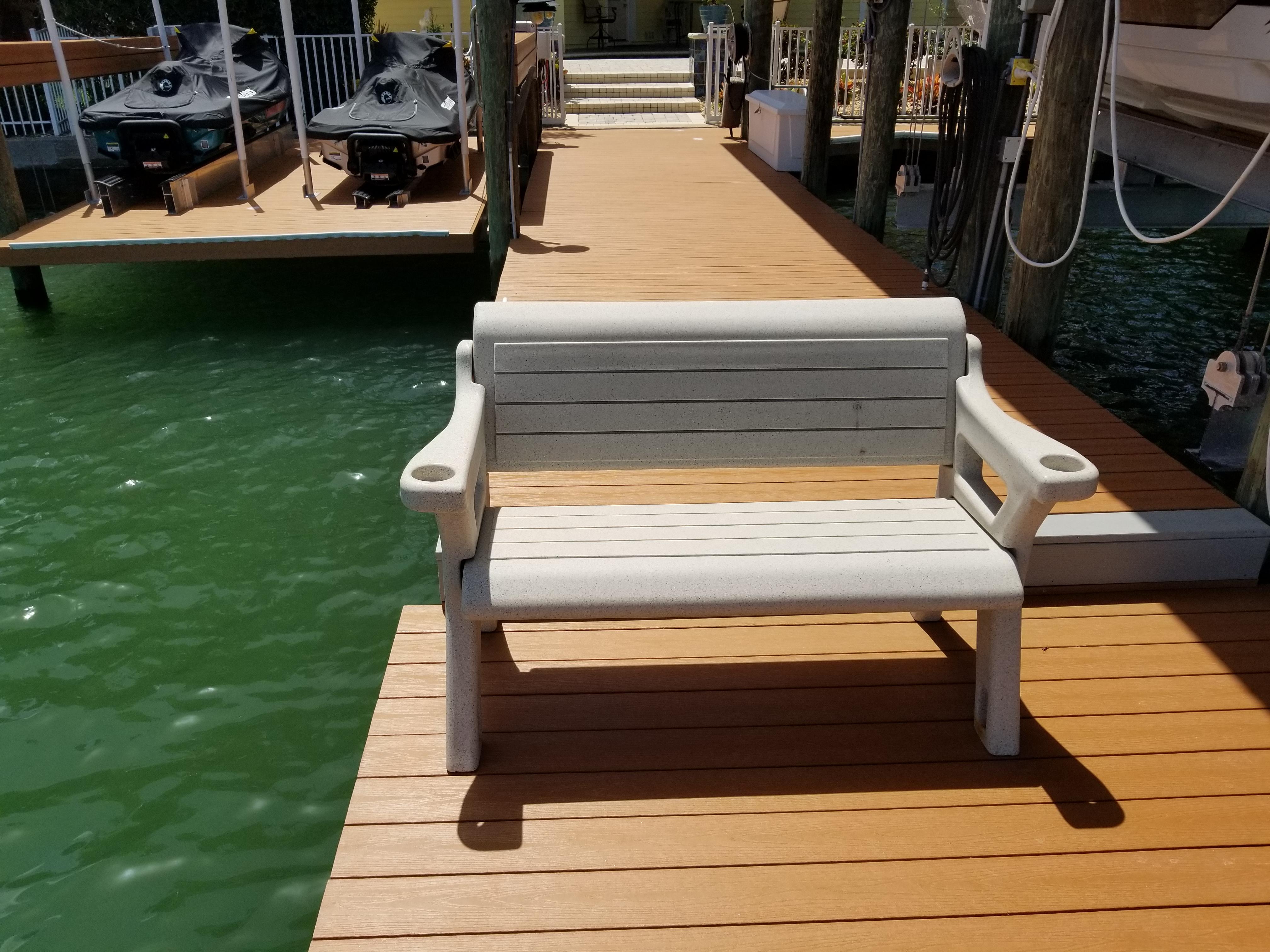 Dock repair. Wrap. St. Petersburg. Tampa Bay Florida. Alex's Dive Service Inc.